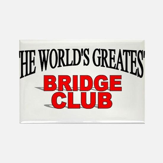 """The World's Greatest Bridge Club"" Magnets"