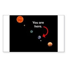 You are here Rectangle Decal