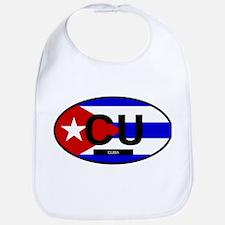 Cuba Full Flag Bib