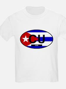 Cuba Full Flag T-Shirt
