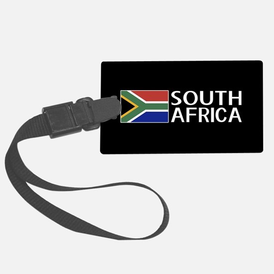South Africa: South African Flag Luggage Tag