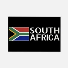 South Africa: South African Flag Rectangle Magnet
