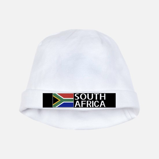 South Africa: South African Flag & South baby hat