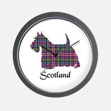 Terrier - Scotland Wall Clock