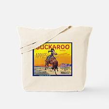 Buckaroo Apple - Vintage Crate Label Tote Bag