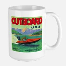 Outboard Apple - Vintage Crate Label Mugs