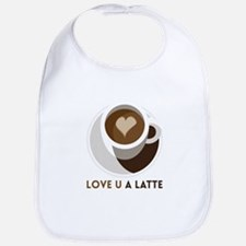 Love U a LATTE Bib
