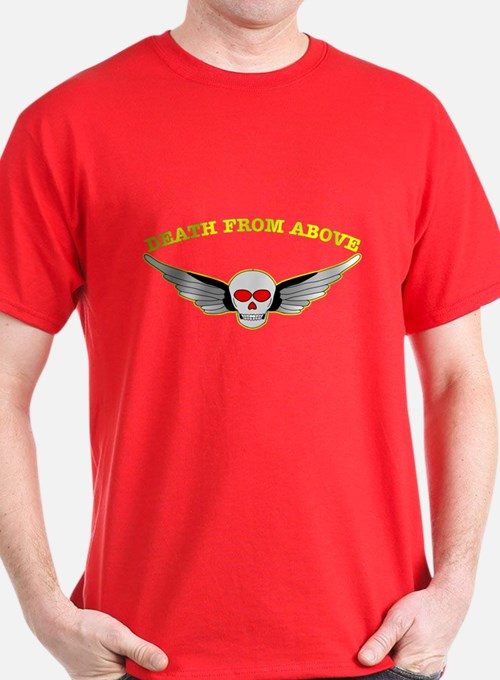 Death From Above Skull T-Shirt