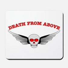 Death From Above Skull Mousepad