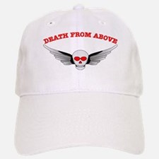 Death From Above Skull Baseball Baseball Cap