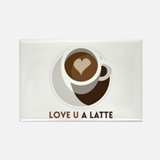 Love U a LATTE Magnets