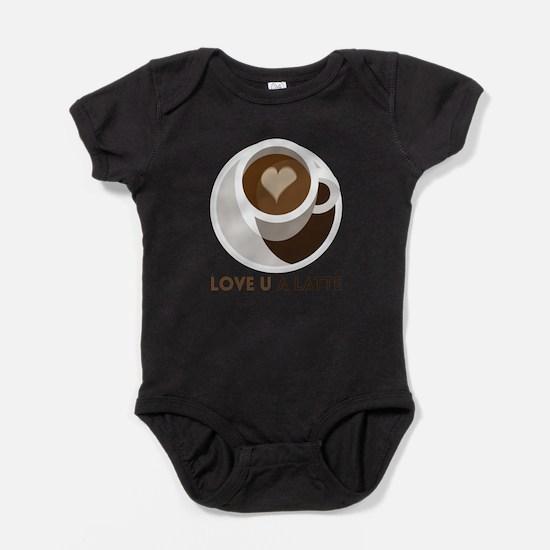 Love U a LATTE Baby Bodysuit