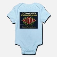Donovan's - Vintage Coffee Label Body Suit