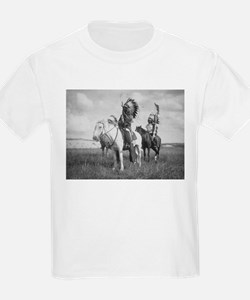 Sioux Indian Chiefs on Horseback T-Shirt