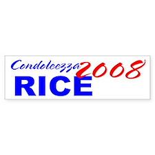 Condi for President, 2008 Bumper Bumper Sticker