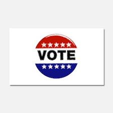 Elections-Vote-Button.png Car Magnet 20 x 12