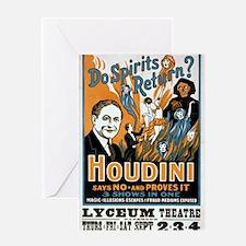 Do Spirits Return? - Vintage Poster Greeting Cards