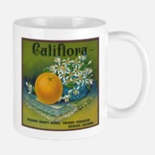 Califlora Orange - Vintage Label Mugs