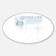 Boussole Oval Decal