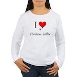 I Love My Fortune Teller Women's Long Sleeve T-Shi