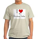 I Love My Fortune Teller Light T-Shirt