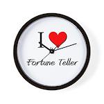 I Love My Fortune Teller Wall Clock
