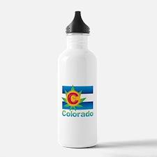 Colorado Marijuana Fla Water Bottle