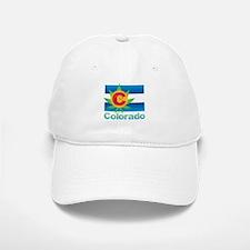 Colorado Marijuana Flag Baseball Baseball Cap