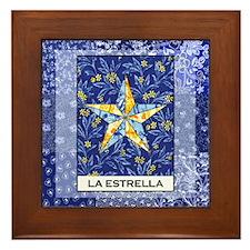 La Estrella Square Framed Tile