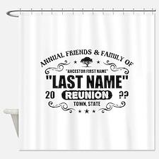 Custom Family Reunion Shower Curtain