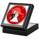 2007 Wedding Gifts Keepsake Box