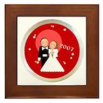 2007 Wedding Gifts Framed Tile