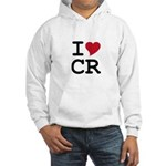 Costa Rica Heart Hooded Sweatshirt