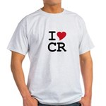 Costa Rica Heart Light T-Shirt