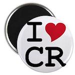 Costa Rica Heart Magnet
