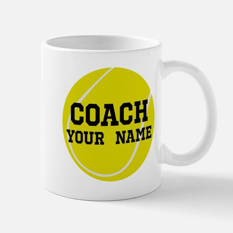 Tennis Coach Personalized Mugs