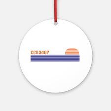 Ecuador Ornament (Round)