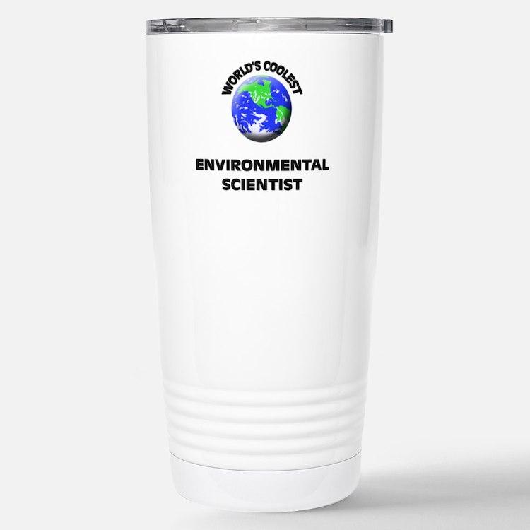 Cute Environmental scientist Travel Mug