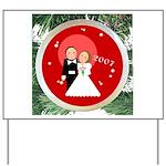 2007 Christmas Wedding Yard Sign