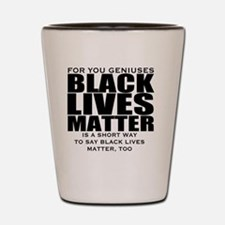 African American Shot Glass