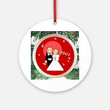 2007 Wedding Ornament (Round)