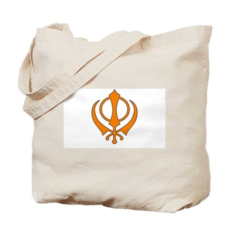 Khanda Tote Bag