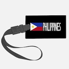 Philippines: Filipino Flag & Phi Luggage Tag