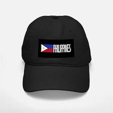 Philippines: Filipino Flag & Philipinnes Baseball Hat
