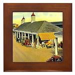 New Orleans Themed Framed Tile