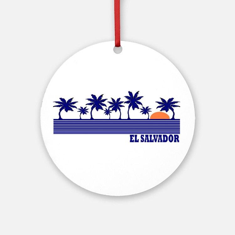 El Salvador Ornament (Round)