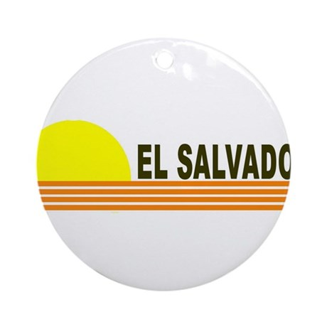 El Salvador Ornament (Round)