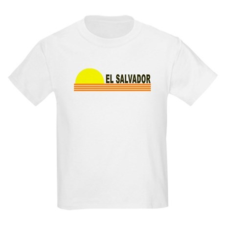 El Salvador Kids Light T-Shirt