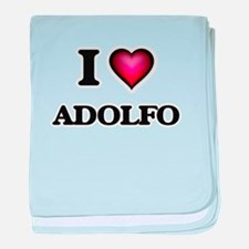 I love Adolfo baby blanket