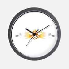 Tribal Bear Paw Wall Clock